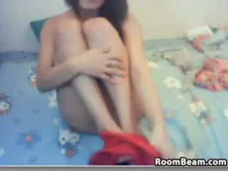 webcam, solo, fingering