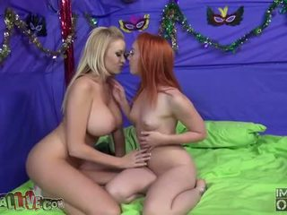 kissing, girl on girl, lezzy