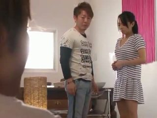 Bigtitted nymph sora aoi has son moth et mound baisée!