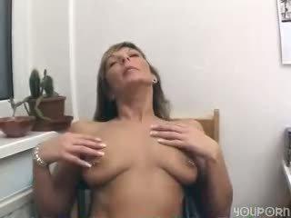 German amateur shoots porn in her house Sascha Production