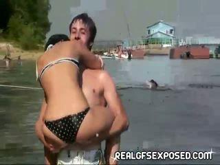 Fishing s někteří akt ruský teens