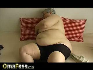 ikäinen, mummi, rasva
