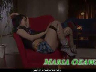 Sexy bukkake gangbang porno action along slim maria ozawa