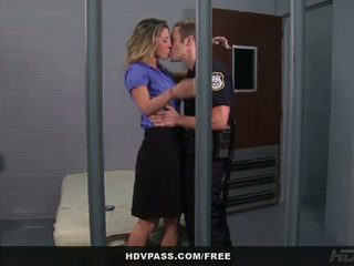 HDV Pass: Kayla paige fucked in the jail cell