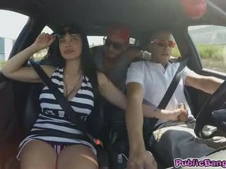 Babeh aletta ocean with monstrous susu silit fucked in cave!