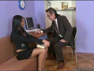 Delightful анално секс с учител
