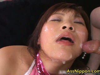 Haruka andou asiatic adolescenta vagaboanta gives