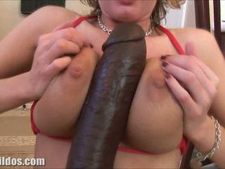 juguetes, caucásico, vaginal masturbación
