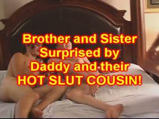 Брат і sister ебать їх краля кузина