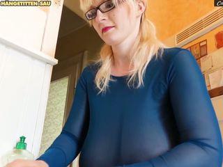 blondýnky, velká prsa, velká přírodní prsa
