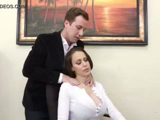 Huge Titty Cougar Boss McKenzie Lee Cums Hard <span class=duration>- 6 min</span>