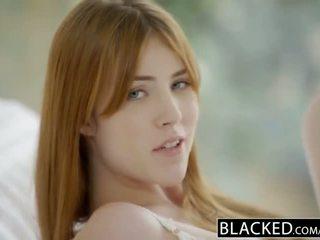 Blacked gwen stark en amarna miller eerste interraciaal trio