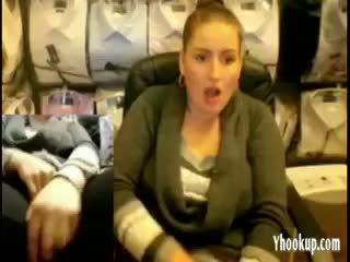 brunete, webcam, amatieris