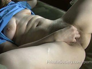 orgasmo, viejo, masturbarse