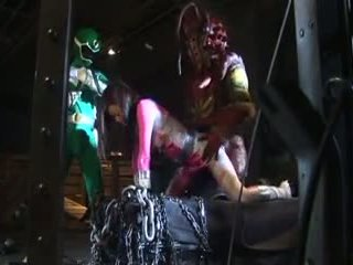 Japonesa rosa poder ranger em trouble