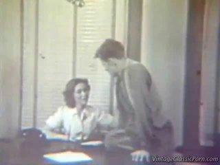 La screwing secretaria