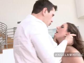 مفلس angela أبيض gets مارس الجنس بواسطة manuel ferrara