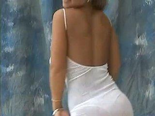 Christina mudel suur bouncing teismeline tiss