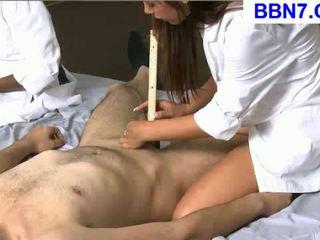brünette, scheiß-, krankenschwestern