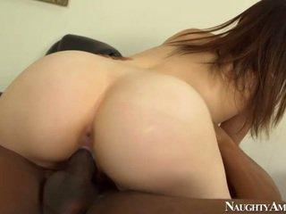 brunette, student, hardcore sex