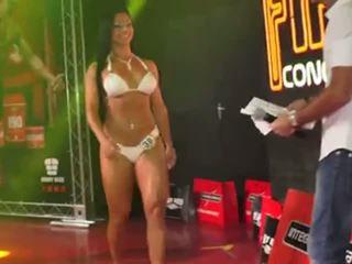 Garota fitness - brazīlieši kultūrisms