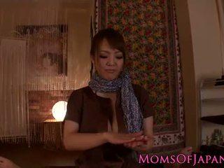 Hitomi tanaka gives sensual pov massagem