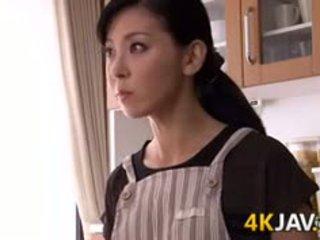 Japonská manželka gets fucked