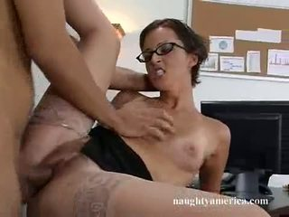 Lusty Office Doxy Sara Faye Receives Tthis Chab Real Fuck That Babe Always Wanted And Craved