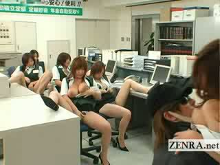 Warga jepun post pejabat pencuri berpayu dara besar masturbation majlis