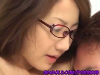 Traviesa asiática oficina dama rina hasegawa gets banged duro en la rotura habitación