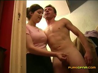 Spying edasi the nanny onaneerimine ära tema boyfriend