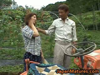 japanse, enorme tieten, volwassen