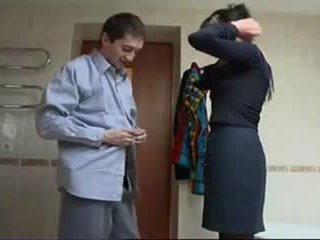 Rusiškas suaugę šiurkštus seksas