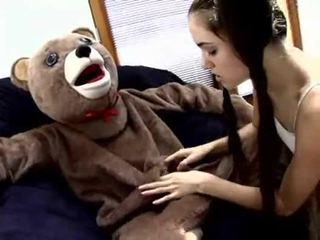 Sasha grey fucks एक teddy बेर