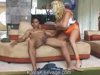 Kayla kleevage & randy velika slepar