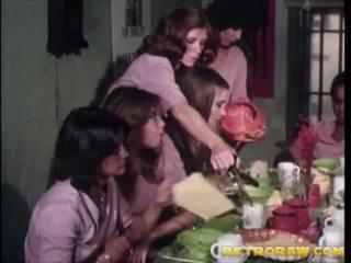 retro, lesbiete, vintage porn