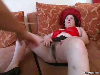 Grande titted gordinhas maduros gets dela peluda cona pounded