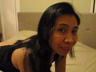 Filipina mrs. gina jones swallows bulls kwak