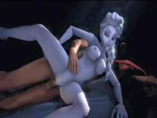 Elsa and Anna D Sex Compilation Frozen, Porn 2d