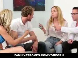 Familystrokes - familie spiel nacht orgie