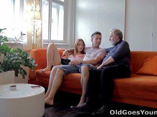 Стар goes млад: тийн sveta прецака от стар мъж