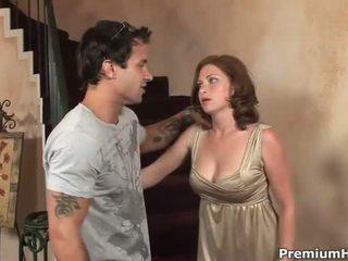 Sexo con grande teta hottie