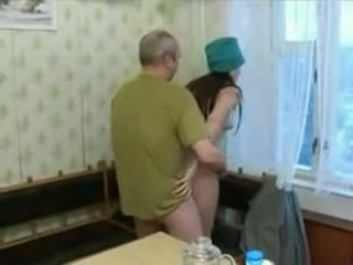 Seksi 19 yo remaja screwing an tua orang!