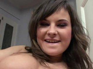 brunette, chick, masturbating