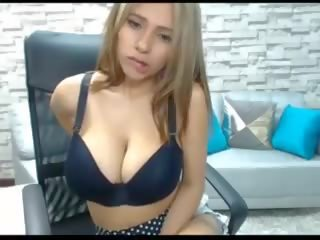 Niley Playing with Her Pussy and Squirts Her Milk on.
