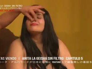 La geisha al desnuda