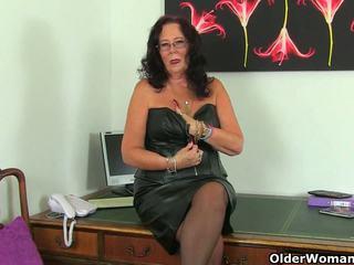 البريطانيون ناضج secretaries lulu lush و zadi stripping