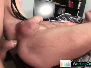 Shane getting sommige vet lul omhoog zijn anus