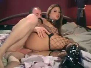 Monica sweetheart - sekss uz a korsete seksuālā zābaki un tīkliņzeķes zeķe