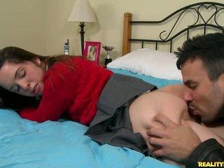 Pelajar putri jaslene takes gemuk kontol di dia remaja mulut